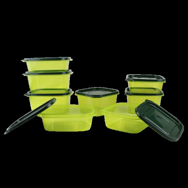 807-10 Jade Green Golden Dragon Houseware